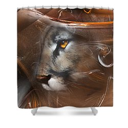 Feline Princess Shower Curtain
