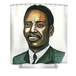 Felix Roland Moumie Shower Curtain