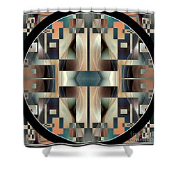Female Abstraction Image Five Shower Curtain