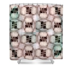 Female Abstraction Image Six Shower Curtain