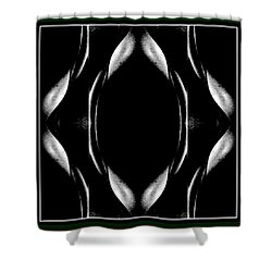 Female Abstraction Shower Curtain