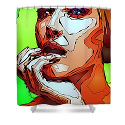 Female Expressions Shower Curtain