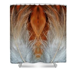 Female Feathers Shower Curtain