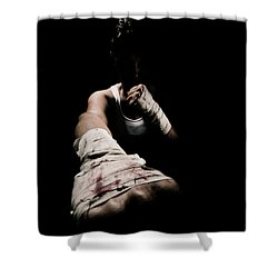 Female Toughness Shower Curtain