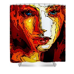 Female Tribute II Shower Curtain