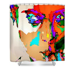 Female Tribute IIi Shower Curtain