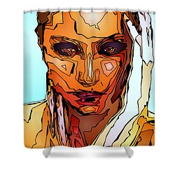 Female Tribute Vii Shower Curtain