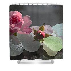 Feminine Shower Curtain by Barbara McMahon