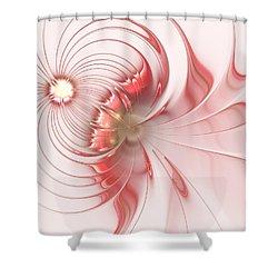 Shower Curtain featuring the digital art Feminism by Anastasiya Malakhova