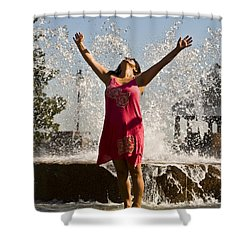 Femme Fountain Shower Curtain