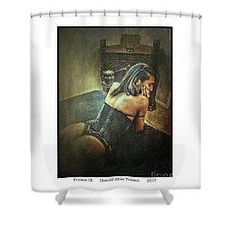 Femme Ix Shower Curtain by Donald Yenson