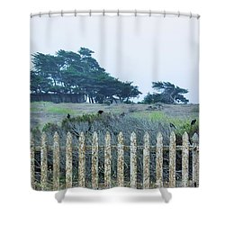 Fenced In Shower Curtain