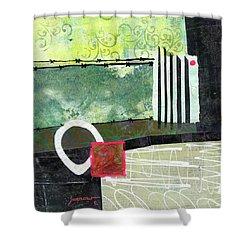 Fences Shower Curtain by Sue Furrow