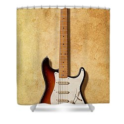 Fender Stratocaster Since 1954 Shower Curtain