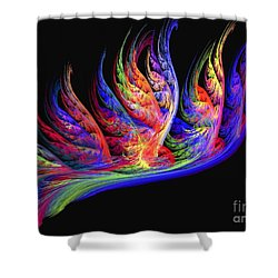 Fenghuang Shower Curtain