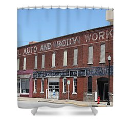 Fennel Auto And Body Works Shower Curtain