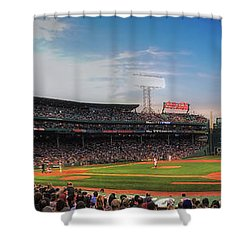 Fenway Park Panoramic - Boston Shower Curtain