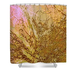 Fern Series 32 Bubbles Rise Shower Curtain