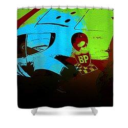 Ferrari 250 Gtb 2 Shower Curtain by Naxart Studio
