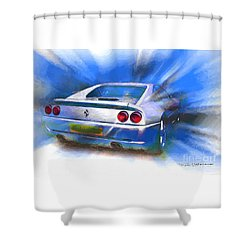 Ferrari 355 Berlinetta Shower Curtain