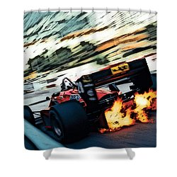 Ferrari 156/85 V6 Shower Curtain