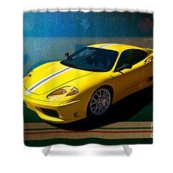 Ferrari F430 Shower Curtain