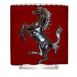 Ferrari Stallion Shower Curtain by Rob Hans