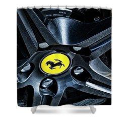 Ferrari Wheel I Shower Curtain