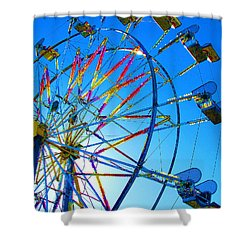 Ferris Wheel I Shower Curtain