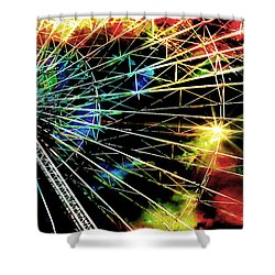Ferris Wheel, Grand Roue Shower Curtain