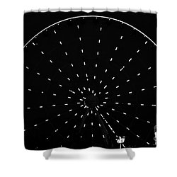 Ferris Wheel Pigeon Forge Shower Curtain