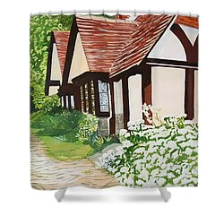 Ferry Cottage Shower Curtain