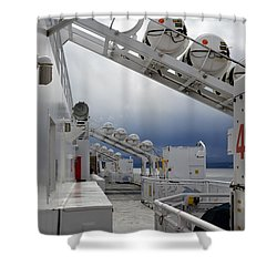 Ferry Crossing Shower Curtain