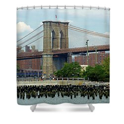 Ferry Hopping Shower Curtain