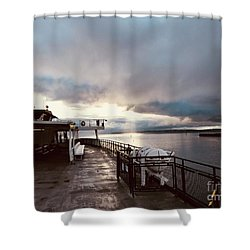 Ferry Morning Shower Curtain