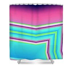 Shower Curtain featuring the digital art Fertile by Ron Bissett