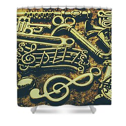 Festival Of Song Shower Curtain