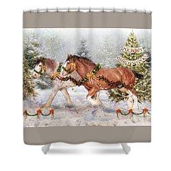 Festive Fun Shower Curtain
