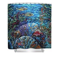 Festive Reef Shower Curtain