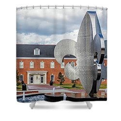 Fg Mouton Hall 02 Shower Curtain