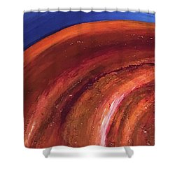 Fibonacci Shower Curtain
