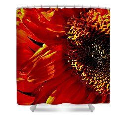 Fickle Sunflower Shower Curtain