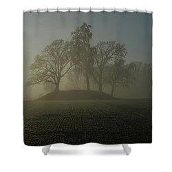 Fiddler's Mound Shower Curtain