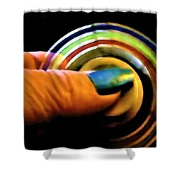 Shower Curtain featuring the photograph Fidgets by Denise Fulmer