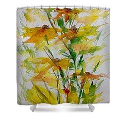 Field Bouquet Shower Curtain