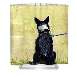 Field Greens Shower Curtain