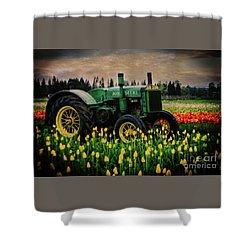 Field Master Shower Curtain