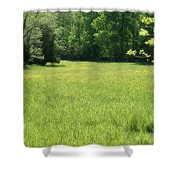 Shower Curtain featuring the photograph Field Of Dreams by Heidi Poulin