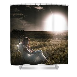 Shower Curtain featuring the photograph Field Of Dreams by Jorgo Photography - Wall Art Gallery