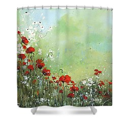 Field Of Imagination Shower Curtain